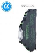 [무어] 6652000 / 릴레이 모듈 / MIRO 6.2 24VDC-1U OUTPUT RELAY / IN: 24 VDC - OUT: 250 VAC/DC / 6 A / 1 C/O contact - 6,2 mm spring clamp
