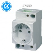 [무어] 67900 / 전원 콘센트 - 독일 표준(VDE) / MSVD POWER SOCKET VDE / Mounting rail