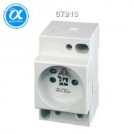 [무어] 67910 / 전원 콘센트 - 프랑스 표준(UTE) / MSVD POWER SOCKET UTE / Mounting rail