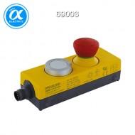 [무어] 69003 / 제어장치 / Emergency stop with 2 positive opening / contacts in a IP65 enclosure / 1 push button with 1 NO / M12 connection, 8 poles