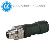 [무어] 7000-08401-0000000 / 커넥터/Signal / M8 MALE 0° FIELD-WIREABLE (SOLDER PINS) / 3-pol. 0.25mm²