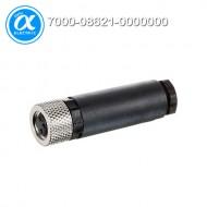[무어] 7000-08621-0000000 / 커넥터/Signal / M8 FEMALE 0° FIELD-WIREABLE SCREW TERM. / 3-pol. 0,14…0.5mm²
