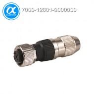 [무어] 7000-12601-0000000 / 커넥터/Signal / MOSA M12 FEMALE 0° FIELD-WIREABLE (IDC) / 4-pol. 0.25…0.5mm²