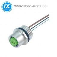 [무어] 7000-13561-9720100 / 플랜지 커넥터/Signal / M12 female receptacle A-cod. front mount / PP-wires 5X0.34 1m