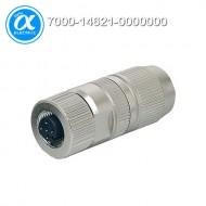 [무어] 7000-14621-0000000 / 커넥터/Data / MOSA M12 FEMALE 0° FIELD-WIREABLE (IDC) / D-cod., 4-pol., cable Ø 4.5...8.8 mm, 0.14-0.34mm², shielded / Ethernet CAT5