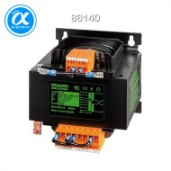 [무어] 86140 / 트랜스포머/1P / MTS 1-PHASE CONTROL AND ISOLATION TRANSFORMER / P: 25VA IN: 208...550VAC OUT: 2x115VAC / For screw and DIN-rail mounting / 단상-복권-절연등급 T 40/B