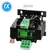 [무어] 86340 / 트랜스포머/1P / MTS 1-PHASE SAFETY TRANSFORMER / P: 40VA IN: 230/400VAC OUT: 24VAC / For screw and DIN-rail mounting / 단상 안전 트랜스-절연등급 T 40/B