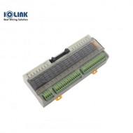 [삼원ACT] R16G-NC-EF / 중형릴레이보드 / R16G-EF 시리즈 / OMRON G6B RELAY 장착 / Push형 Screwless 단자대 분리형
