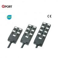 [삼원ACT] MPA-K83N-H□ / 메인케이블 일체형 M12 분기박스 / MPA 시리즈 / UL-내유성PUR-가동형 / 케이블 일체형