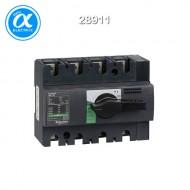 [슈나이더] 28911 / 스위치 단로기 / 스위치 디스커넥터 / Compact INS125 / Switch-disconnector / 4P - 125A - 흑색 회전핸들