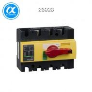 [슈나이더] 28928 / 스위치 단로기 / 스위치 디스커넥터 / Interpact INS160 / Switch-disconnector / 3P - 160A - 적색 회전핸들