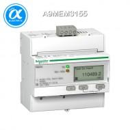 [슈나이더] A9MEM3155 / Acti 9 에너지 계측기 / Acti 9 - Meter / iEM3155 energy meter - 63A - Modbus - 1 digital I - 1 digital O - multi-tariff - MID