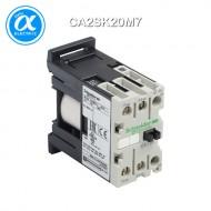 [슈나이더] CA2SK20M7 / Control Relay / 보조계전기 TeSys SK - CA2-SK - 2NO - 순시형 - 10A - 코일 220V AC