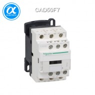 [슈나이더] CAD50F7 / Control Relay / 보조계전기 TeSys D - CAD-50 - 5NO - 순시형 - 10A - 코일 110V AC