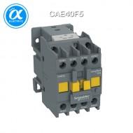 [슈나이더] CAE40F5 / Control Relay / EasyPact TVS / 보조계전기 TVS - 4 NO - 제어 110V AC, 50Hz - 정격 690 V 이하 / [구매단위 36개]