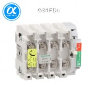 [슈나이더] GS1FD4 / 스위치 단로기 / 퓨즈 스위치 디스커넥터 / TeSys GS / Switch-disconnector-fuse / 4P - NFC - 50A