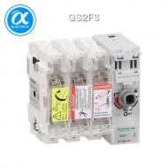[슈나이더] GS2F3 / 스위치 단로기 / 퓨즈 스위치 디스커넥터 / TeSys GS / Switch-disconnector-fuse / 3P - 50A - NFC 14 x 51 mm