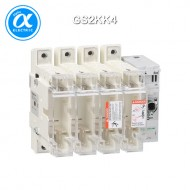 [슈나이더] GS2KK4 / 스위치 단로기 / 퓨즈 스위치 디스커넥터 / TeSys GS / Switch-disconnector-fuse / 4P - 125A - DIN 00