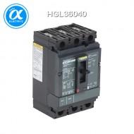 [슈나이더] HGL36040 / 배선용차단기(MCCB) / PowerPact H / Thermal magnetic, Unit mount,  / 40A, 3 pole, 18 kA, 600 VAC, 80% rated