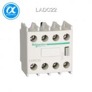 [슈나이더] LADC22 / 전자접촉기(MC) 액세서리 / TeSys 접촉기 부속품 / TeSys D, F / 보조 접점 블록 - 2NO + 2NC - 스크류  터미널