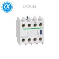 [슈나이더] LADN22 / 전자접촉기(MC) 액세서리 / TeSys 접촉기 부속품 / TeSys D, F / 보조 접점 블록 - 2NO + 2NC - 스크류  터미널