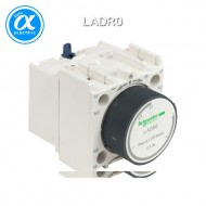 [슈나이더] LADR0 / 전자접촉기(MC) 액세서리 / TeSys 접촉기 부속품 / TeSys D, F / 시간 지연 보조 접점 블록 - 1NO + 1NC - Off delay 0.3-3s - 스크류  터미널