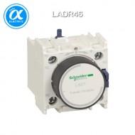 [슈나이더] LADR46 / 전자접촉기(MC) 액세서리 / TeSys 접촉기 부속품 / TeSys D, F / 시간 지연 보조 접점 블록 - 1NO + 1NC - Off delay 10...180s - 링 터미널