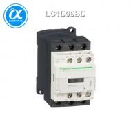 [슈나이더] LC1D09BD / 전자접촉기(MC) / TeSys D / 접촉기 TeSys D - 3P - AC-3 440V 9A - 코일 24V DC
