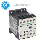 [슈나이더] LC1K0610F7 / 전자접촉기(MC) / TeSys K 접촉기 / 접촉기 TeSys K - LC1-K - 3P - AC-3 440V 6A - 코일 110V AC - 보조접점 1NO