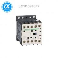 [슈나이더] LC1K0910F7 / 전자접촉기(MC) / TeSys K 접촉기 / 접촉기 TeSys K - LC1-K - 3P - AC-3 440V 9A - 코일 110V AC - 보조접점 1NO