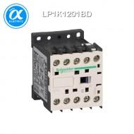 [슈나이더] LP1K1201BD / 전자접촉기(MC) / TeSys K 접촉기 / 접촉기 TeSys K - LP1-K - 3P - AC-3 440V 12A - 코일 24V DC - 보조접점 1NC
