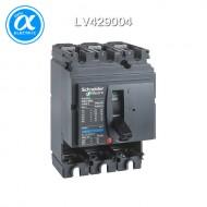 [슈나이더] LV429004 / 배선용차단기(MCCB) / ComPact NSX_분리형(Basic Frame) / Compact NSX100H / Base Frame / 100 A - 3 극 - 트립유닛 없음