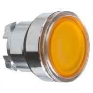 [슈나이더]ZB4BW353 /조광누름버튼 스위치/메탈 베젤 조광헤드 복귀 황색