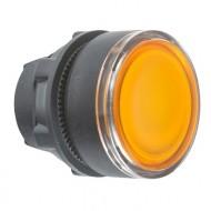 [슈나이더]ZB5AW353 /조광누름버트 스위치/플라스틱 베젤 조광헤드 복귀 황색